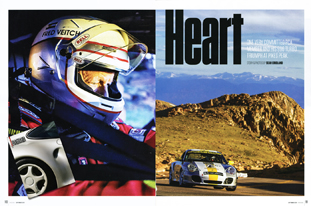 Panorama article on Pikes Peak 2014