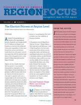 PCA RegionFocus on Election Processes