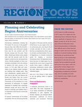 PCA RegionFocus on Region Anniversaries