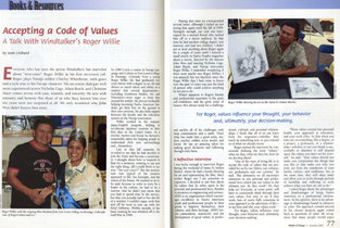 AISES Winds of Change: Accepting a Code of Values
