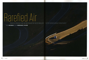 Panorama article on Pikes Peak 2013